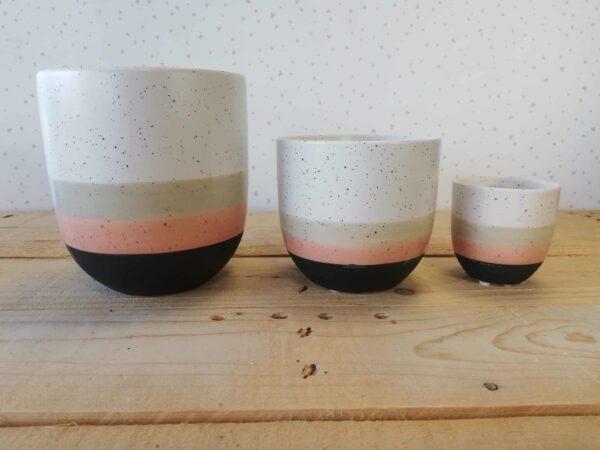coprivaso pietra speckled vasi per piante