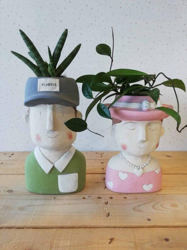 gli aristocratici vasi per piante